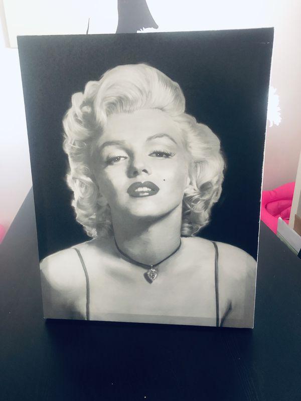 Marilyn Monroe wall art canvas