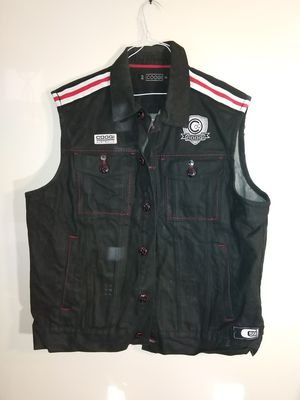 Men's size XXL 2x vintage coogi denim vest logo sleeveless for Sale in Takoma Park, MD