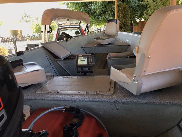 Gregor Delta Aluminum Fishing Boat