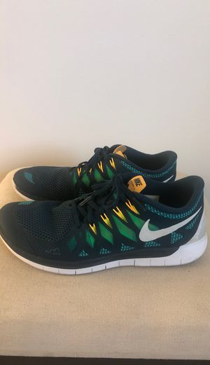 NIKE/FREE, men's athletic sneaker, used, size: 10.5, blue/petrol/green for Sale in Mountain View, CA