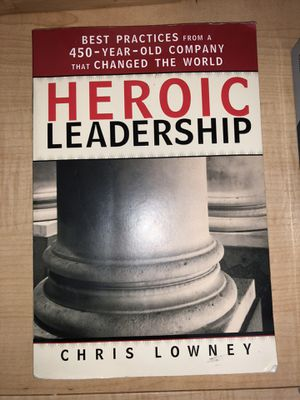 Heroic Leadership Book for Sale in Parma Heights, OH