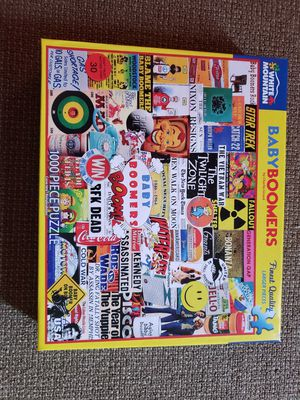 PUZZLES - VARIOUS BY WHITE MOUNTAIN for Sale in Bethesda, MD