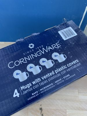 CorningWare Mugs With Covers for Sale in Washougal, WA