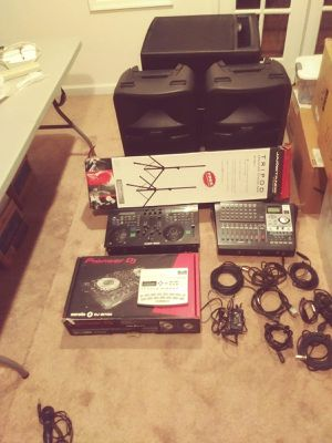 DJ equipment & Moon bounce Package!! for Sale in Washington, DC