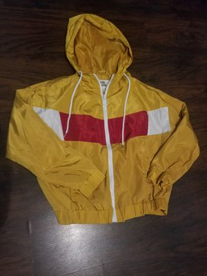 Yellow zip-up hoodie for Sale in Lewisville, TX