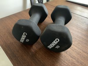 Ivanko 10 lb. dumbbells for Sale in Seal Beach, CA