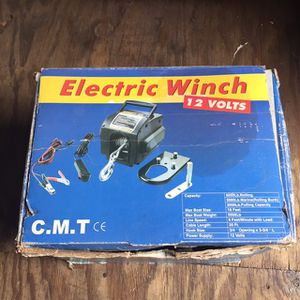 Electric Winch 12volts for Sale in Largo, FL