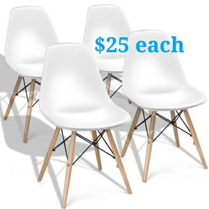 Brand new $25 each century modern leisure dining chair for Sale in Whittier, CA