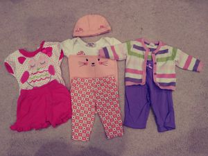 Baby girl clothes 0-6 months for Sale in Gaithersburg, MD