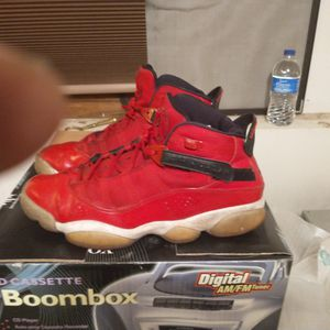 Red Nike Jordons 12 for Sale in Galena, OH