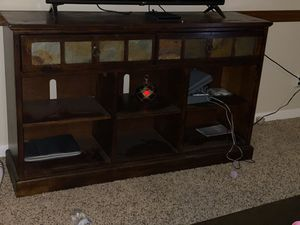 Wood TV Stand for Sale in Fresno, CA