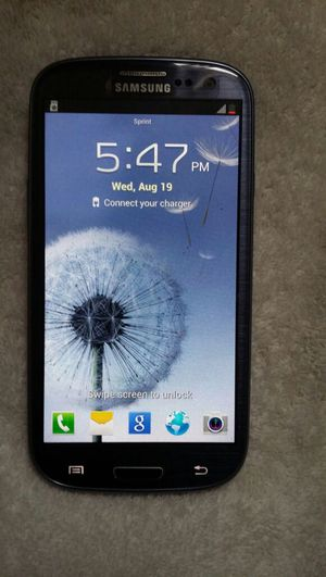 Samsung Galaxy S3 for sprint for Sale in Santa Monica, CA