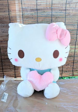 Hello Kitty Jumbo Pastel Heart Plush NEW for Sale in Palmdale, CA