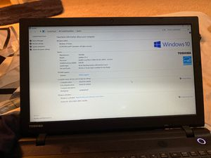 TOSHIBA Laptop for Sale in Hermitage, TN