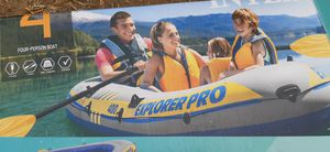 Inflatable boat explorer pro 400 new for Sale in Hacienda Heights, CA