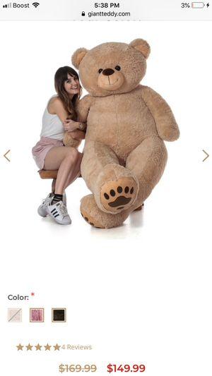 Giant teddy bear for Sale in Southgate, MI