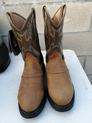 Brand new Ariat work boots. Size 11 D. Waterproof. Soft toe for Sale in Riverside, CA