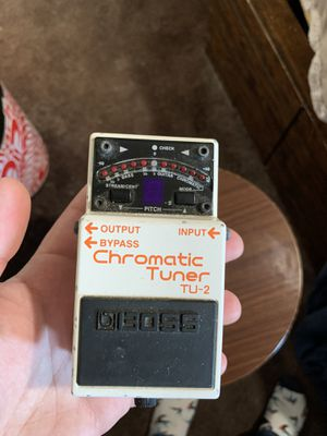 Boss TU-2 Tuner Pedal Guitar/Bass for Sale in Westminster, CA