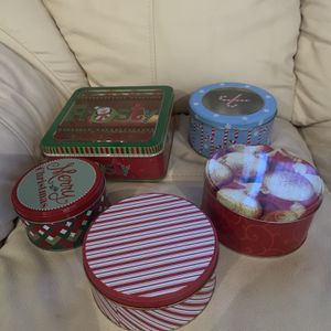 Christmas Cookie Tins for Sale in Watertown, CT