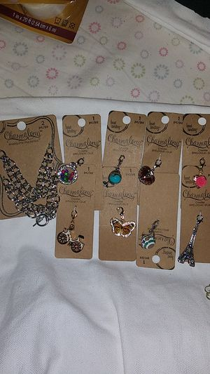 2 Charm bracelets & 8 charms for Sale in Brentwood, CA