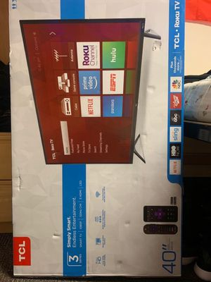 TCL Roku Smart Tv 40 inch for Sale in Seattle, WA