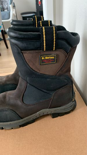 Size 11 - Dr Martens work boots - safety toe for Sale in Alameda, CA