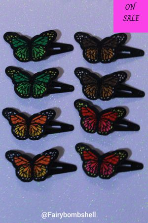 Butterfly Hairclips ( small) for Sale in Baton Rouge, LA