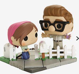 Disney Pixar Up Carl & Ellie Funko POP Vinyl Figures - 2020 Fall Convention Exclusive for Sale in Laurel, MD