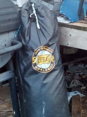 Everlast punching bag for Sale in Oklahoma City, OK