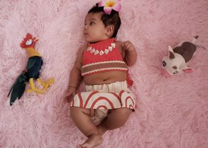 Adorable Moana outfit 3-6M Halloween Costume for Sale in Mesa, AZ