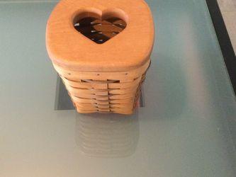 Longaberger Heart Basket for Sale in Camano,  WA