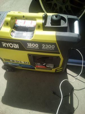 Ryobi generator 2300 for Sale in Stockton, CA