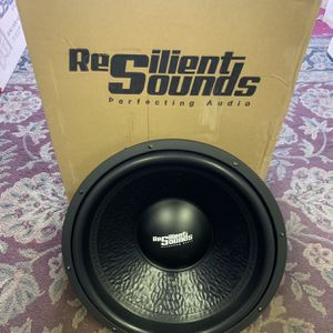 Resilient Sounds Car Audio . 15 Inch Car Stereo Subwoofer 1500 Watts Max 500 Rms New Years Super Sale . $125 Each While They Last New for Sale in Mesa, AZ