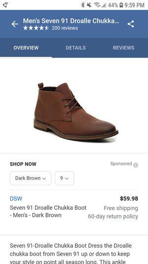 Mens Seven91 Droalle Chukka boot for Sale in Woodbridge, VA