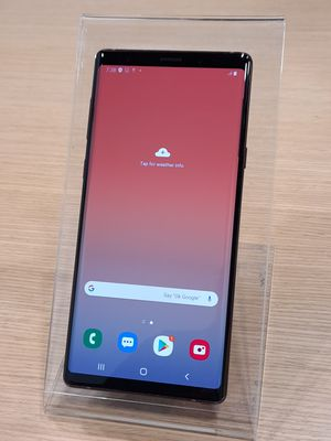 Samsung Galaxy Note 9 128GB Bronze Unlocked for all Carriers for Sale in Los Angeles, CA