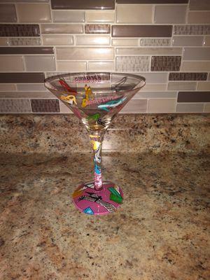 1 martini glass for Sale in Springfield, MA
