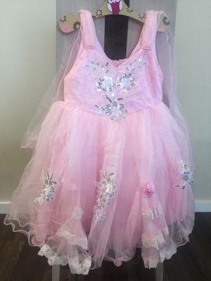 Flower Girl Dress - PINK with Silver Sequin Embroidery (Multiple Sizes) for Sale in Kent, WA