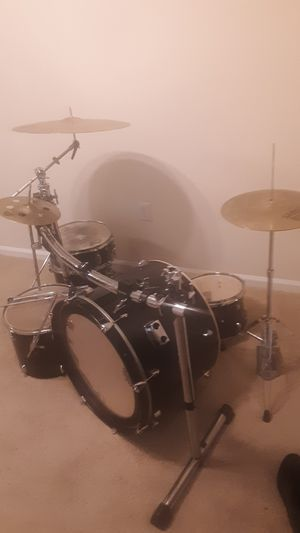 Incomplete drum kit for Sale in Durham, NC