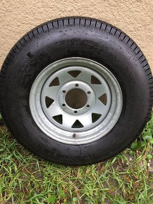 Trailer Tire *NEW*6 Lug ST225/75-D15 - $75 (Holiday for Sale in Holiday, FL