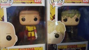 Funko One Punch Man Saitama and Genos for Sale in Corona, CA
