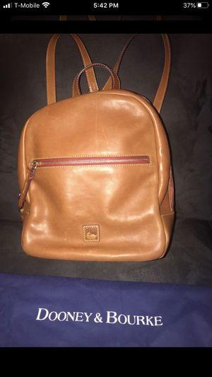 Authentic genuine leather dooney and Bourke backpack/ handbag for Sale in Menifee, CA