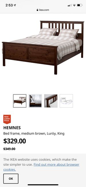 Ikea bed frame! for Sale in Salt Lake City, UT
