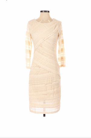 M.S.S.P casual tan dress size S Gently used for Sale in Buckhannon, WV