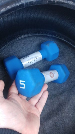 5 pound weight set for Sale in Pittsburgh, PA