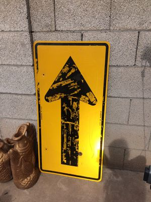 One way mancave sign for Sale in Goodyear, AZ