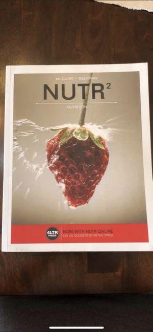 Nutr2 nutrition book for Sale in Kennewick, WA