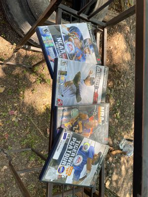 Play Station 2 games NCAA NBA Baseball Tiger woods for Sale in Stafford, TX