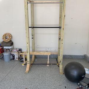 Wooden Power Rack for Sale in Norfolk, VA
