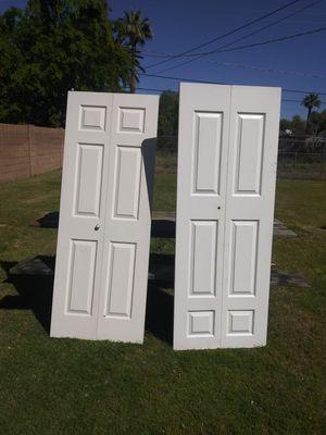 Bifold closet doors for Sale in Phoenix, AZ