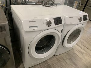 Samsung frontload washer dryer set electric for Sale in Phoenix, AZ